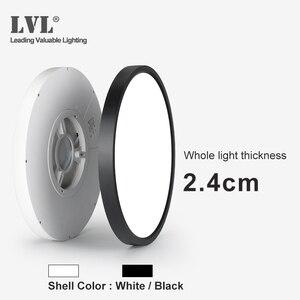 Image 5 - Modern LED Ceiling Light 12W 18W 24W 32W 220V 5000K Kitchen Bedroom Bathroom Lamps Ultrathin Ceiling Lamp