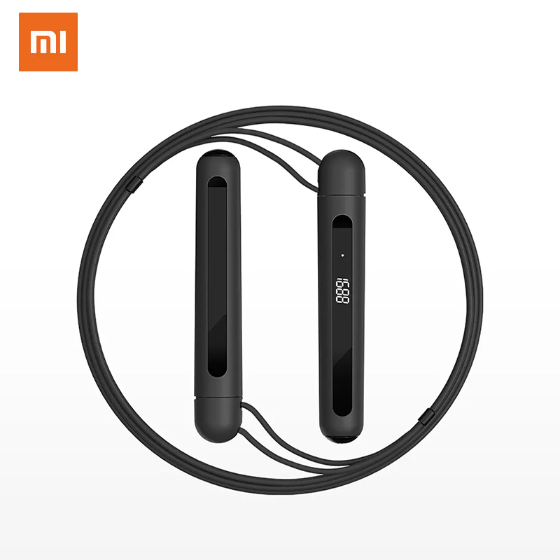 XIAOMI MIJIA Jump Ropes FitnessTiming Measurement Professional Speed Rope Crossfit Precise Counting RopeJump Counter