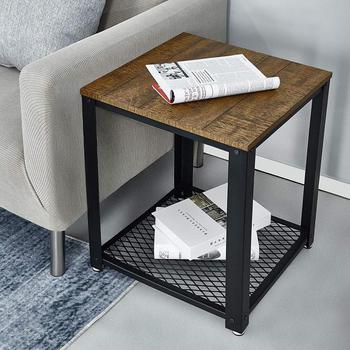 End of Sofa Coffee Table Bedside Table Living Room Table Vintage Style Industrial Wooden Iron Metal Coffee Tables Home Furniture furniture home furniture living room furniture sofa tables shan farmers 1128