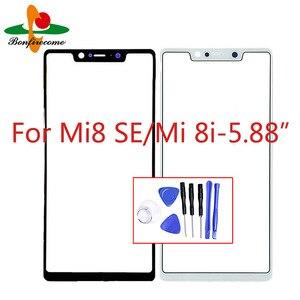 Для Xiaomi Mi 8 SE \ Mi8 SE \ Mi8i Mi 8i LCD Передний сенсорный экран стекло внешняя линза Замена