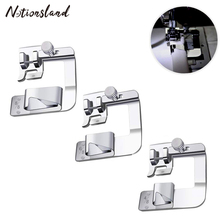 1PC Sewing Machine Presser Foot Rolled Hem Feet Set Household Sewing Machine Parts Tool Accessories 3 Size 1pcs locking edge sewing edge sewing machine foot 7310 metal household multifunction presser feet for sewing machine accessories