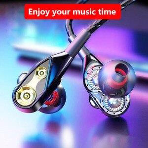 In-ear проводные наушники 3,5 мм Спорт игровая гарнитура с микрофоном наушники с глубоким басом наушники для IPhone 7 Samsung Huawei Xiaomi