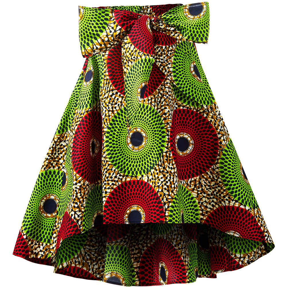 African Clothes For Women Fashion Africa Skirt Traditional Ankara Print Skirt Flower Print Casual Dashiki Skirt Print Wax Skirt