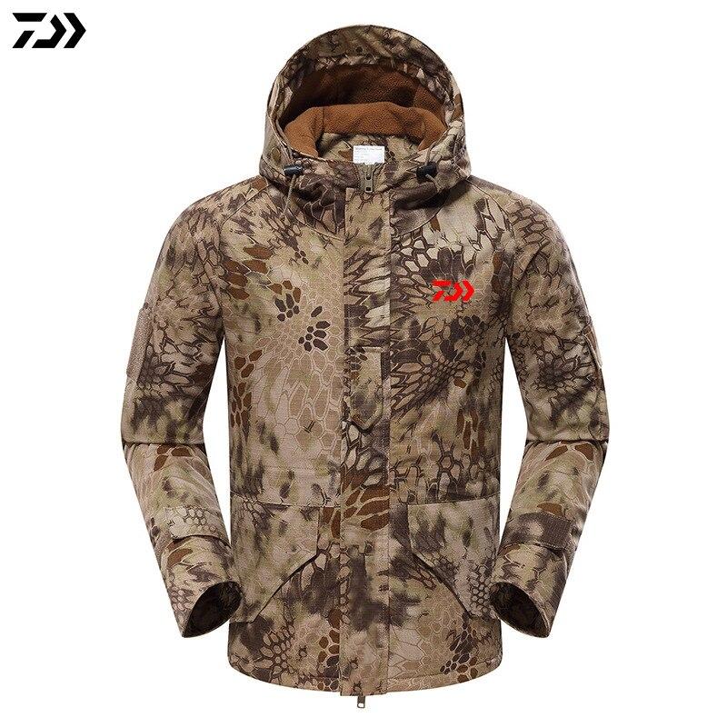 2019 nova jaqueta de inverno python camuflagem