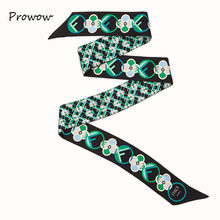 New Skinny Scarf Letter Printing Silk Scarf For Women Luxury Brand Foulard Fashion Ladies Bag Scarf Head Scarves SJ120()