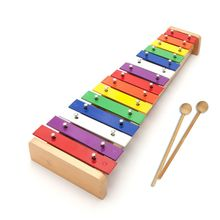 15 Sound Aluminum Piano Children's Early Education Knock Piano Xylophone