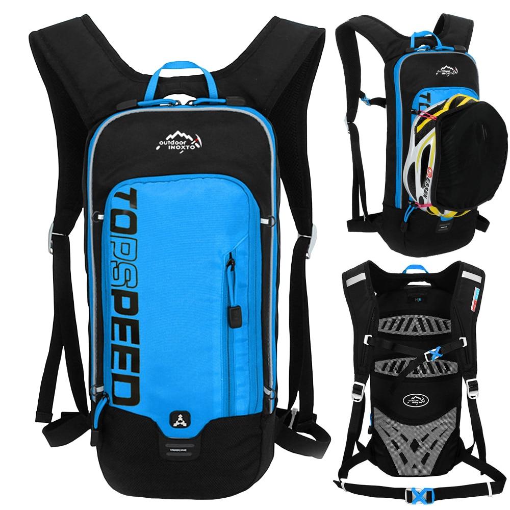 6L Outdoor Sport Cycling Running Hydration Water Bag Storage Helmet Backpack UltraLight Hiking Bike Riding Pack Bladder Knapsack