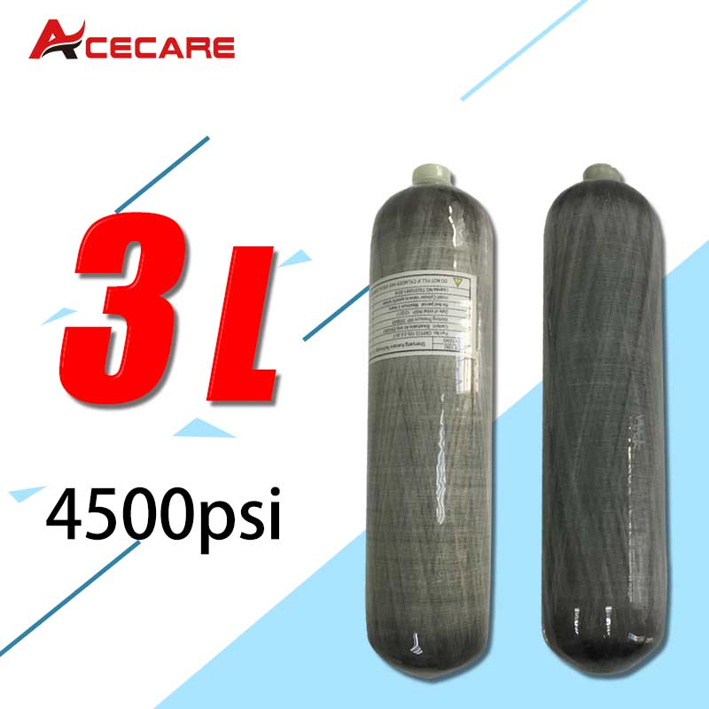 AC103 3L Mini Scuba Diving Tank/Cylinder CE Pcp Condor Air Rifle Paintball Tank 4500Psi For Hunt/Shoot/Breathing Apparatus