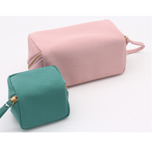 2 in one set Cosmetic Bag for Make Up Brush Women Makeup
