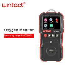 Professional portable o2 oxygen gas detector with 120000 groups data logging and sound light vibration alarm стоимость
