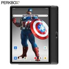 Wersja globalna 10 cal tablet 32GB eMMC szybki procesor podwójne aparaty 5MP Android 9 Pie GPS wi-fi Bluetooth Pad karty TF o pojemności 64GB darmowe upominki