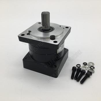Nema32 80mm Planetary Gearbox  4:1 Speed Ratio 4 Speed Reducer 3000rpm Shaft 19mm Carbon steel Gear for Servo Stepper Motor