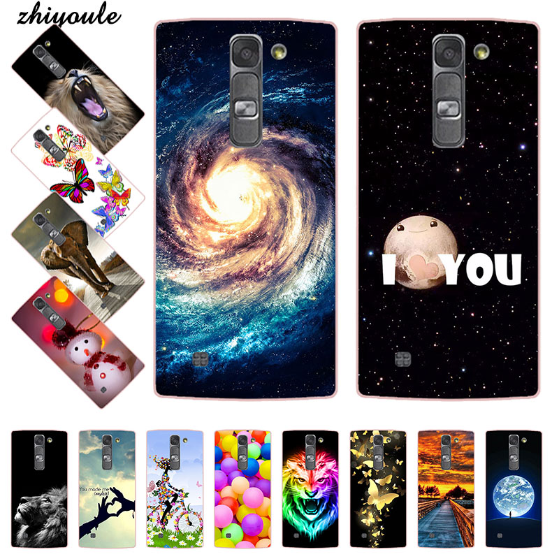 Case for LG Magna G4c H522Y H502f H500F H525N Flower Crown Tower Pattern Soft TPU Silicone Cover For LG G4 Mini X Power Case