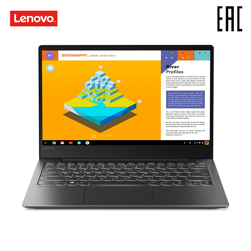 Laptop Lenovo S530-13IWL/13.3FHD _ IPS_GL_300N_N_GLASS/CORE_I3-8145U_2.1 G _ 2C_MB/4 GB/БезHDD/128 GB SSD/Integrated/Безпривода/