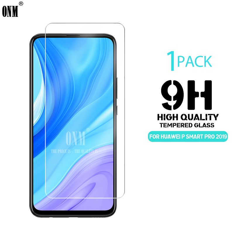 2.5D 9H Premium Tempered Glass For Huawei P Smart Pro 2019 6.59 Screen Protector Protective Film For Huawei P Smart Pro 2019