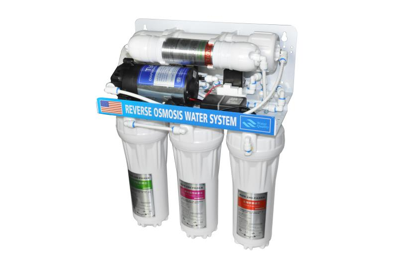 5-Stage Ultra Safe Reverse Osmosis Drinking Water Filter System With Motor And Water Tank