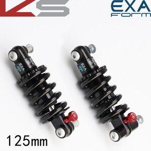 Taiwan EXA 291R 125 мм велосипедный Задний амортизатор/литиевый Электрический Модернизированный/масляный амортизирующий задний амортизатор