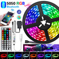 20M Led Strip Light Bluetooth RGB SMD 5050 Led Lights Tape Flexible 30LEDs/M Waterproof LED Strip Ribbon for room and adapter
