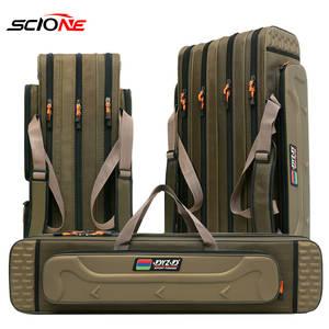 Fishing-Bag Case Reel-Lure Pole-Storage-Bag Tackle-Xa153g Multifunctional 4-Layer 80/90/100/120cm