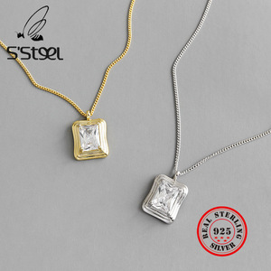 S'STEEL 925 Sterling Silver Pe