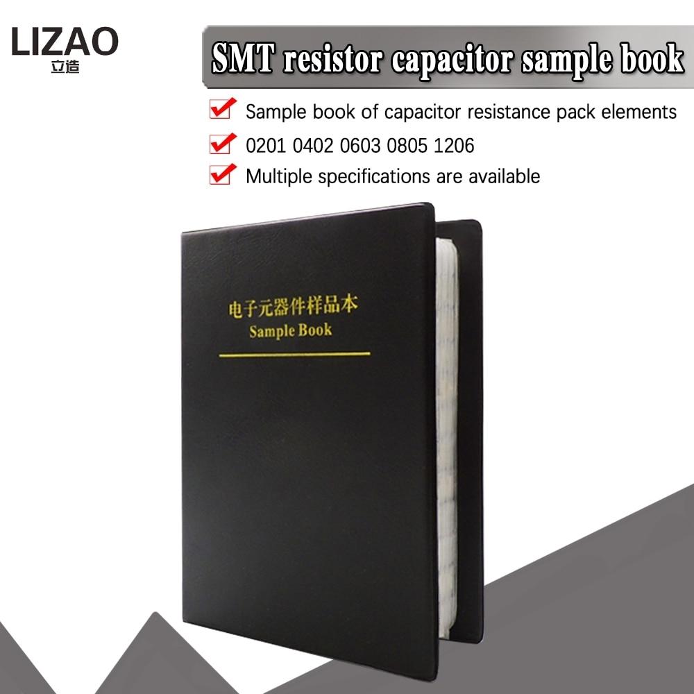 SMD резистор 0201 0402 0603 085 1206 1%, множество различных конденсаторных резисторов, инженерная сборка профессиональных компонентов