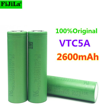 2021 New Original 3.7V 18650 2600mah 30A Original For Sony US18650 VTC5A 3.6V IMR battery for Toy E-cig Torch Flashlight ect image