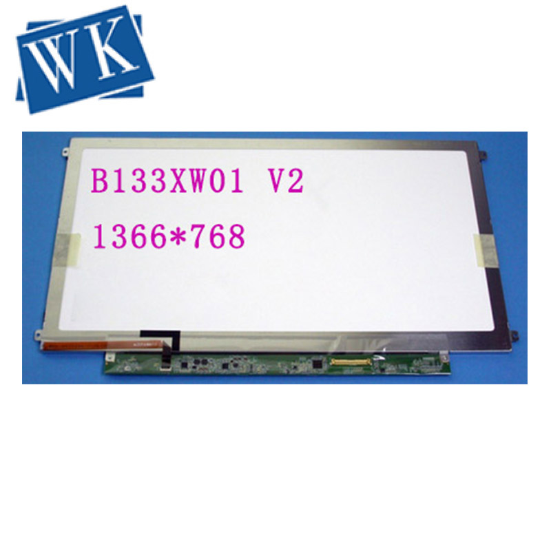 B133XW01 V2 V.2  1366*768 HD 40Pin LVDS 13.3 LCD Screen LCD Matrix LED Display LK.13305.002 Replacement