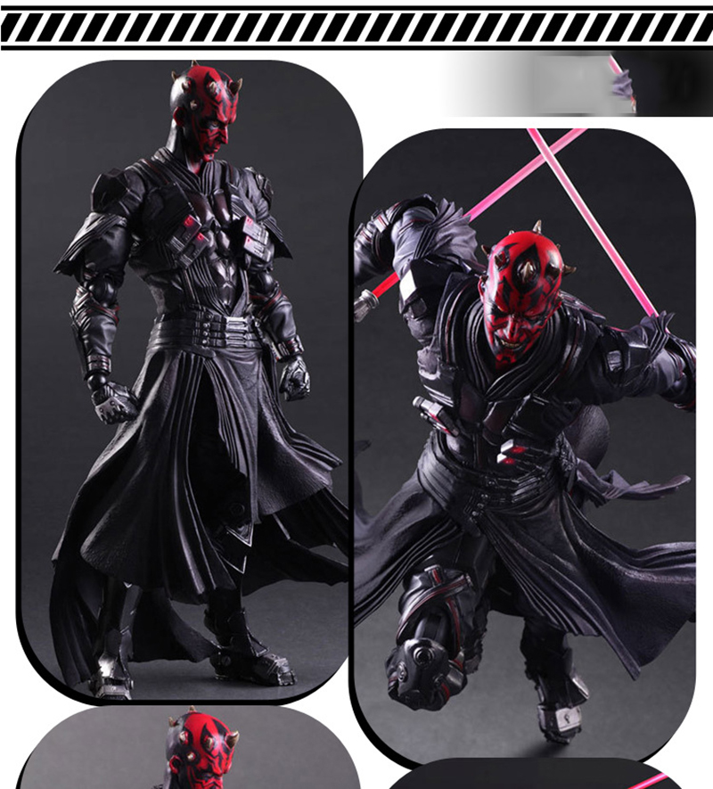 Star Wars: The Force Awakens Darth Maul 26cm Anime Figure Doll Collections Children Toys Gift 5