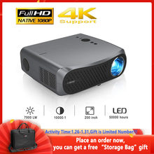 900d hd completo 1080p projetores lcd 1920x1080 suporte 4k para cinema em casa cinema cinema jogos ao ar livre filme com bluetooth hdmi usb