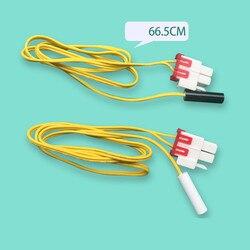 1 sztuk 5K 66cm lodówka czujnik temperatury nadaje się do Samsung LG lodówka termostat czujnik Części do lodówki AGD -