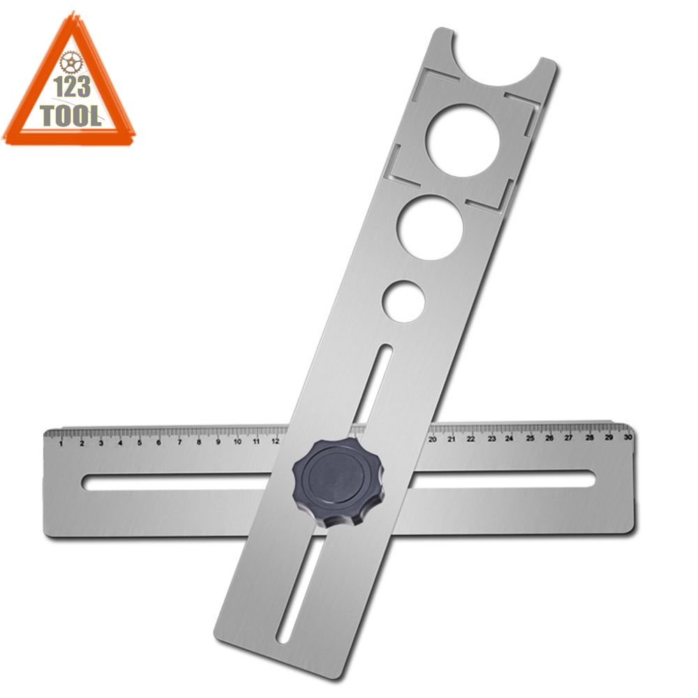 1PC Multi-Functional Tile Locator Puncher Tapper Adjustable Tile Fixing Decorations Accessory For Building Construction J3
