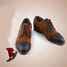 Novo filme joker joaquin phoenix cosplay anime botas sapatos personalizados