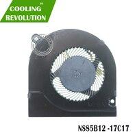 Laptop CPU Lüfter NS85B12 DC05V 0.50A 17C17 4PIN DC28000KAD0 TIA8 01 84D 000 09B0|cooling fan|hp cooling fanshp fan -