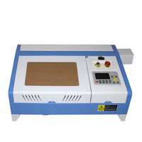 데스크탑 ly 레이저 3020 40 w/3020 프로 50 w co2 레이저 조각 기계 디지털 기능 및 벌집 테이블 고속