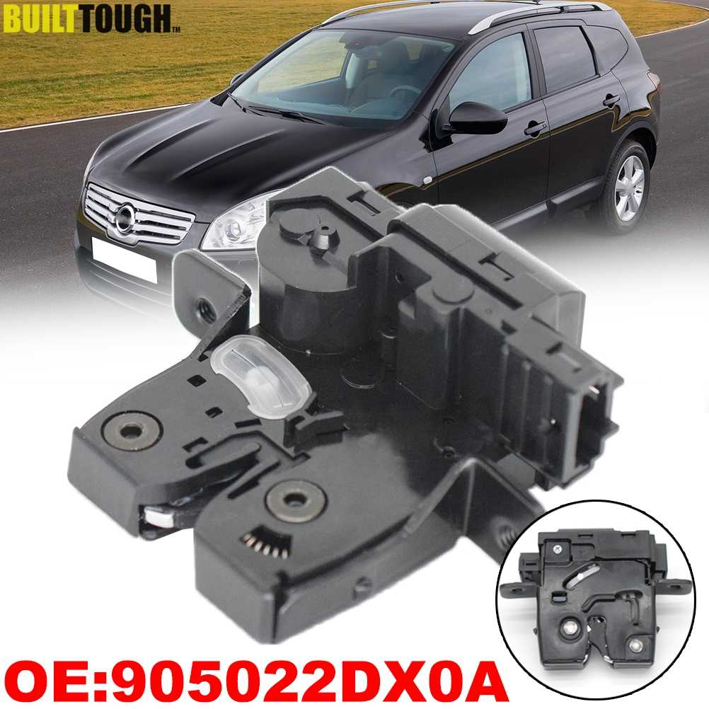 90502-2DX0A Tailgate Boot Lid Lock Compatible with Nissan Micra Mk3 Qashqai Tiida