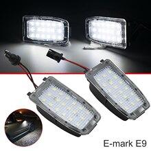 Paar Helle LED Rückansicht Unter Spiegel Puddle Licht Für Land Rover Discovery Freelander LR2 LR3 LR4 Range Rover Sport l322