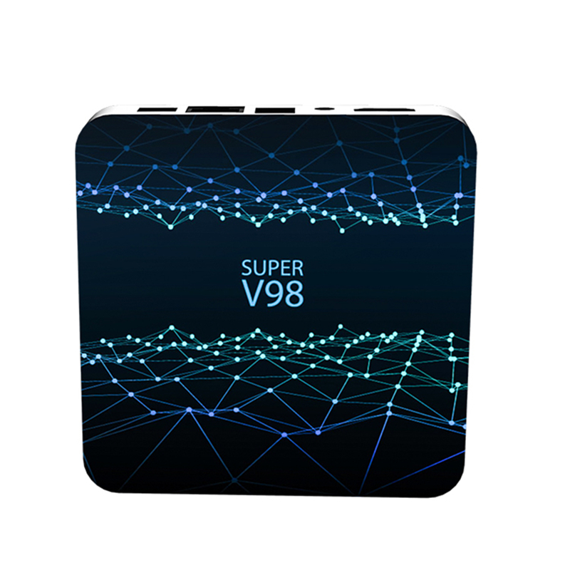 IEPLO Super V98 TV BOX 4G DDR3 Tv Box Android 9 0 Boxes Iptv Subscription RK3318 Quad Cor Iptv M3u Smart Tv Android Tv in Set top Boxes from Consumer Electronics