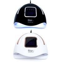72W Nail Dryer UV LED Nails Lamp LCD Display 37 LEDs Timer Setting for Curing Art Tool