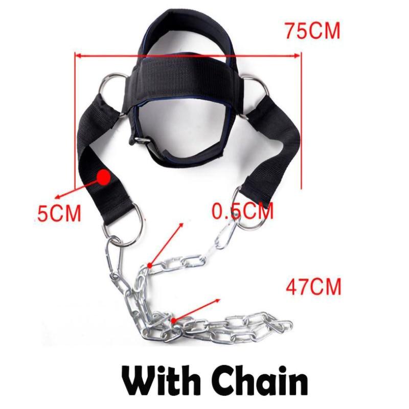 Head Neck Training Device Shoulder Weight Strength Practice Neck Trainer