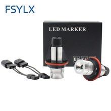 FSYLX 2 шт. маркер ангельские глаза без ошибок Автомобильные светодиодные лампы для BMW E39 E53 E60 E61 E63 E64 E65 E66 E87 525i 530i 545i M5