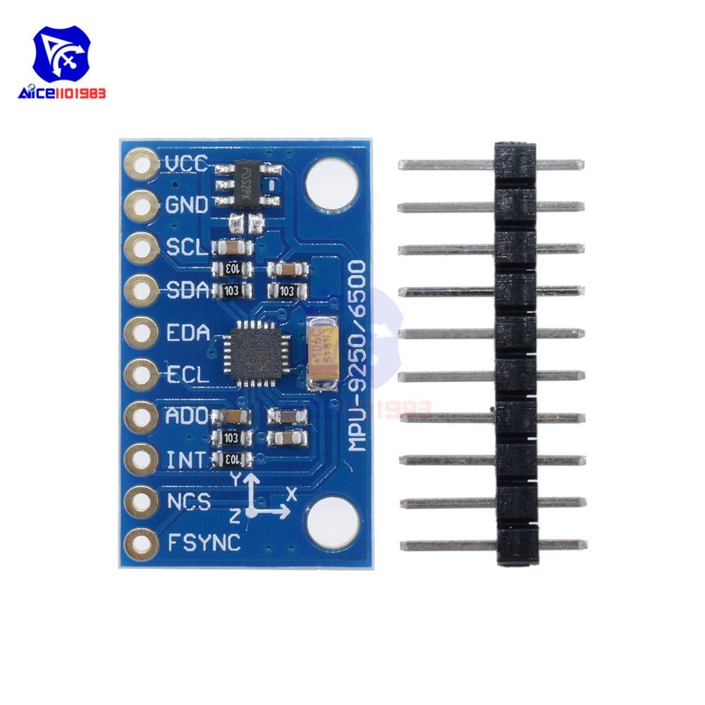 Gyro+Accelerator+Magnetometer Sensor Module IIC//SPI for Arduino 10 DOF 16 Bit Gyroscope Acceleration Magnetic Sensor