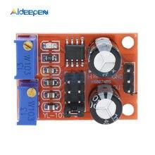 Générateur de Signal à onde carrée réglable NE555, fréquence d'impulsion, Cycle de service, 10kHz -200kHz, pilote de moteur pas à pas