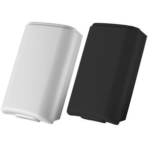 Image 2 - 100 pcs Black & White Optional Plastic Battery Pack Battery Cover Case Replacement for Xbox 360 Repair Parts