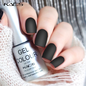 KADS Matte Top Coat 7ml Nail UV Gel Polish nail top coat matte nails DIY Nail Art Semi Vernis Permanent Gel Varnish matte top фото