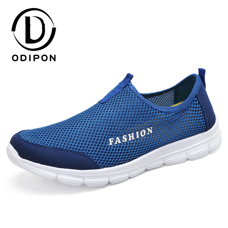 Size 36-47 Men Shoes Summer Sneakers Breathable Casual Lightweight Comfortable Men Walking Shoes Couple Fashion Flats Sport Shoe