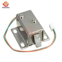 DC 12V электромагнитный замок клапана мини электрический замок для файлового шкафа замок для шкафа домофоны маленький ящик электронный