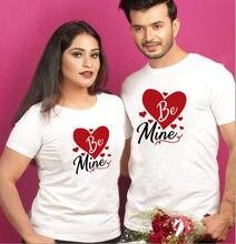 Camiseta de San Valentín para parejas, camisetas de amor para hombres y mujeres, camisetas de manga corta, regalo para el Día de San Valentín