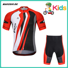 MAKOSHARK ChildrenS Team Summer Quick Drying Bicycle Suit 2019 New Style Racing Riding Jersey Pants Sets Motorcycle
