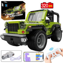 KAIYU APP Programming Remote Control City Off-Road Racing Car Building Blocks High-tech RC Vehicle Truck MOC Bricks Gifts Toys