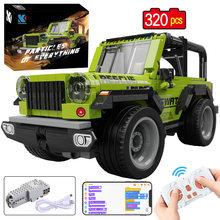 KAIYU APP programowanie zdalne sterowanie miasto Off-wyścigi drogowe samochodowe klocki budowlane techniczne RC pojazd ciężarówka MOC cegły prezenty zabawki